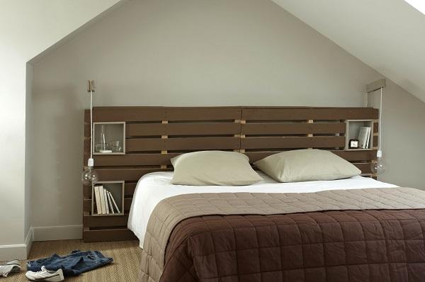 Faire une tete de lit en bois meilleures images d - Tete de lit originale fait maison ...