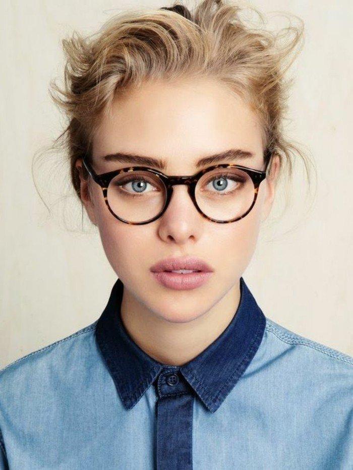 comment être belle avec des lunettes