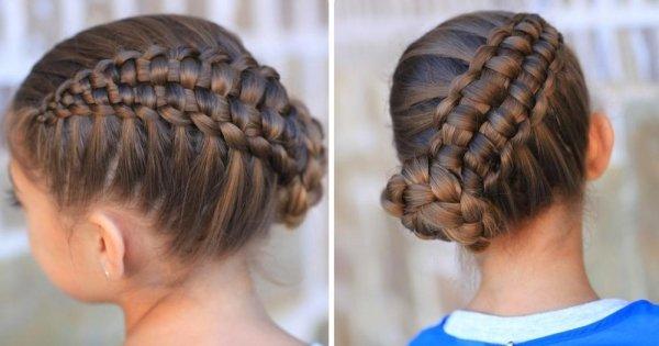 coiffure-tresse-asymetrique-chignon