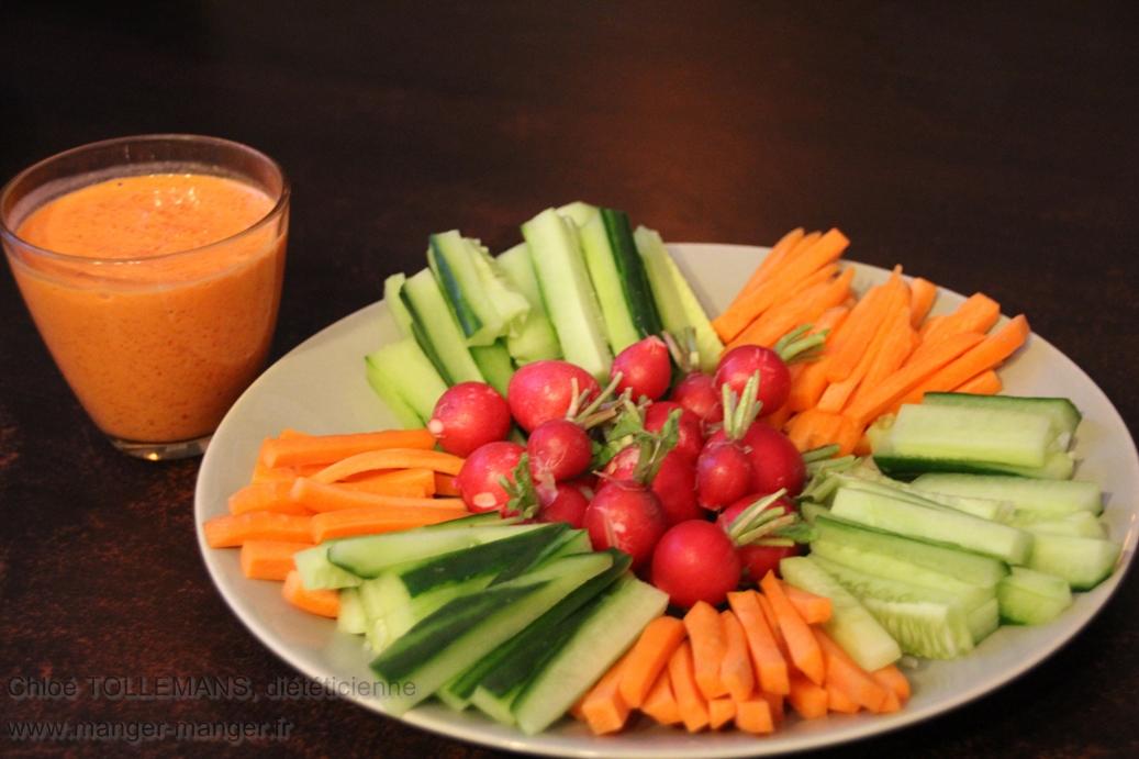 Dieteticienne-Toulouse-Apero-legumes-sauce