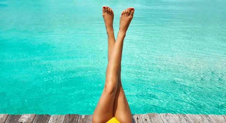 jambes et soleil