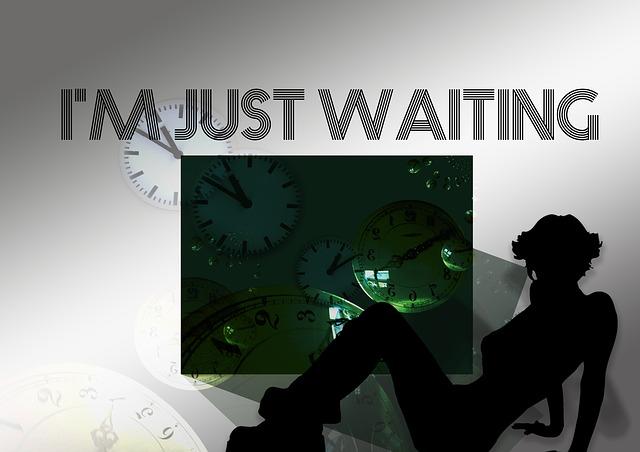 attendre, ne plus chercher