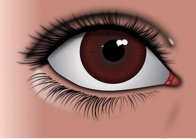 faire ressortir blnc des yeux