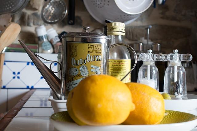 huile d olive et citron